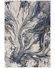 """Illusions Watercolors 5'3"""" x 7'7"""" Area Rug"""