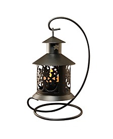 Lumabase Set of 4 Tabletop Metal Lanterns