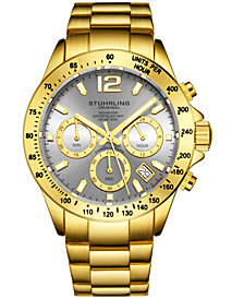 Stuhrling Original Men's Chrono Bracelet Watch