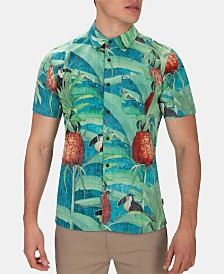 Hurley Men's Costa Rica Graphic Shirt