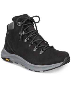 Merrell Men's Ontario Mid Waterproof Leather Hiker Boots Men's Shoes