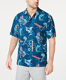 Tommy Bahama Men's This Is How I Roll Regular-Fit Hawaiian Silk Camp Shirt