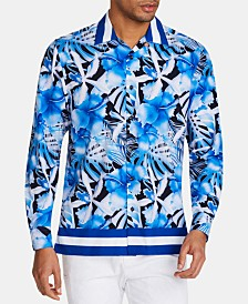 Tallia Men's Slim-Fit Floral Shirt