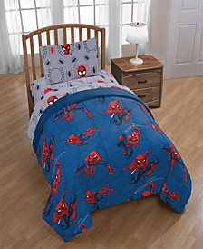 Mavel Spiderman Spidey Crawl Twin Comforter