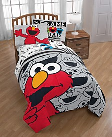Hip Elmo Twin Comforter