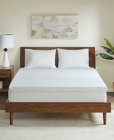 "Flexapedic by 2"" Memory Foam Mattress Topper"