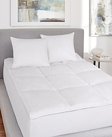 J. Queen New York Royalty No-Quill Feather Bed Topper Collection
