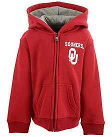 Outerstuff Oklahoma Sooners Red Zone Full-Zip Hoodie, Toddler Boys (2T-4T)