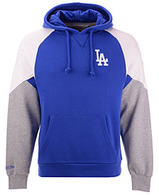 Mitchell & Ness Men's Los Angeles Dodgers Trading Block Hoodie