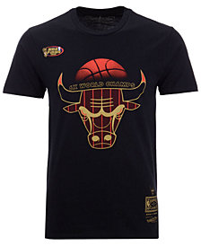 Mitchell & Ness Men's Chicago Bulls Chicago 6 Ring Collection T-Shirt