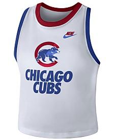 Nike Women's Chicago Cubs Crop Tank