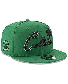 New Era Boston Celtics Enamel Script 9FIFTY Snapback Cap