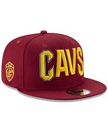 New Era Cleveland Cavaliers Enamel Script 9FIFTY Snapback Cap