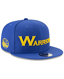 New Era Golden State Warriors Enamel Script 9FIFTY Snapback Cap