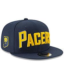 New Era Indiana Pacers Enamel Script 9FIFTY Snapback Cap