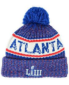 New Era Super Bowl LIII Atlanta Pom Knit Hat