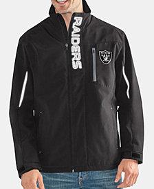 G-III Sports Men's Oakland Raiders Energy Player Front Zip Jacket