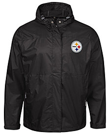 G-III Sports Men's Pittsburgh Steelers Turf Player Front Zip Jacket