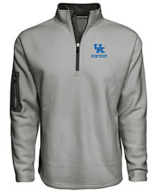 J America Men's Kentucky Wildcats Textured Poly Fleece Jacket