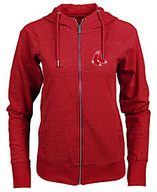 Antigua Women's Boston Red Sox Lineup Full-Zip Sweatshirt