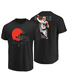 Majestic Men's Baker Mayfield Cleveland Browns Notorious Player T-Shirt