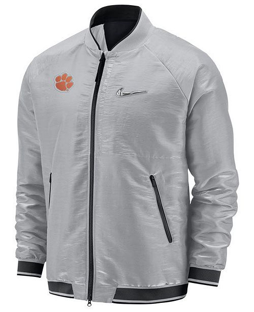 reputable site 29523 ef245 ... Nike Men s Clemson Tigers 2018 College Football Playoff Bomber Jacket  ...
