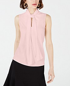 Bow-Neck Blouse, Created for Macy's