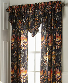 Midnight Bloom Ascot Valance