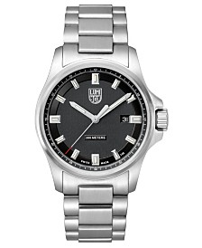 Luminox Men's 1832 Dress Field Stainless Black Dial Bracelet Watch