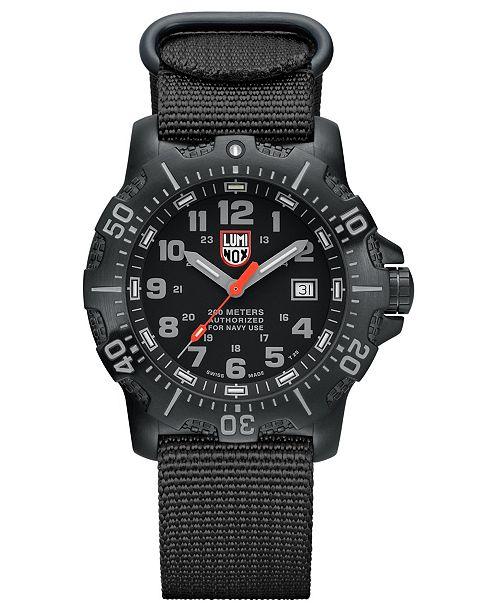 Luminox ANU 4200 Series Black Mens Watch - 4221