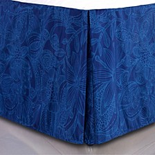 Valentina Flowers and Doodles Microfiber Bed Skirt