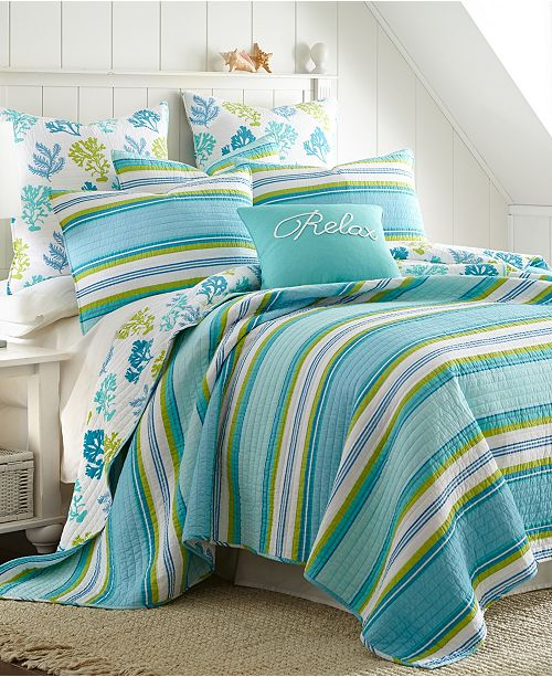 Levtex Home Cozumel Full/Queen Quilt Set