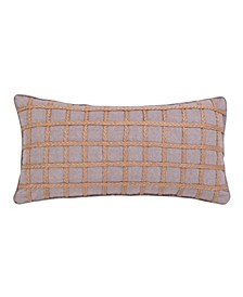 Home Solano Gray Rope Pillow