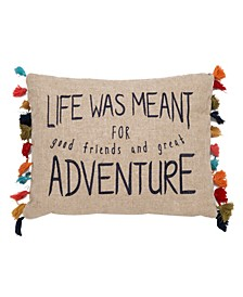 Home Karia Life Was Meant For Adventure Pillow