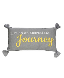"Levtex Home Taryn Gray Journey 12"" x 24"" Pillow"