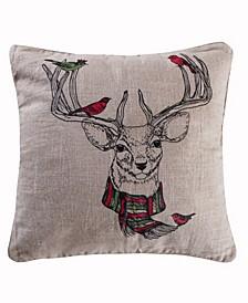 Home Spruce Deer Pillow