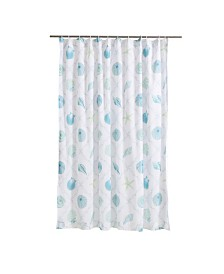 Levtex Home Marine Dream Seaglass Shower Curtain