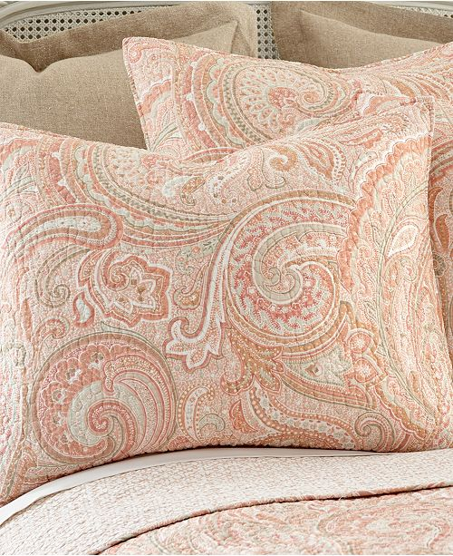 Levtex Home Spruce Coral Twin Quilt Set Amp Reviews Quilts