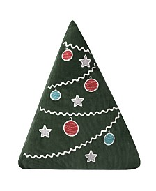 Levtex Home Santa Claus Lane Xmas Tree Pillow