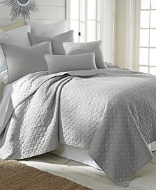 Home Bordeaux Light Gray Full/Queen Quilt Set