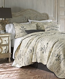 Levtex Home Histoire Gray Full/Queen Quilt Set