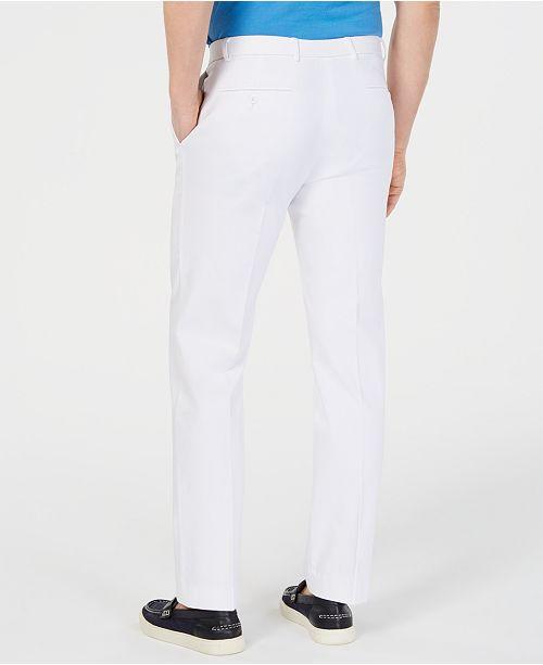 f6dde1c14c60c5 ... Tommy Hilfiger Men's Modern-Fit TH Flex Stretch Comfort Solid Dress  Pants ...