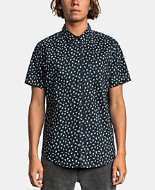 RVCA Men's Floral Graphic Shirt