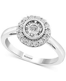 EFFY® Diamond (1/2 ct. t.w.) Diamond Ring in 14k White Gold