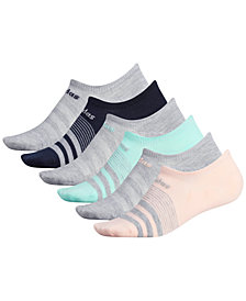 adidas 6-Pk. Superlite No-Show Socks