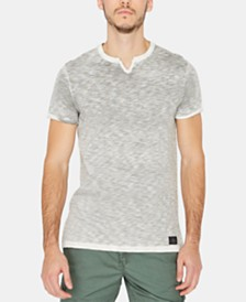 Buffalo David Bitton Men's Kali Space Dyed T-Shirt