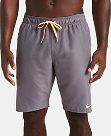 "Nike Men's Diverge Perforated Colorblocked 9"" Board Shorts"