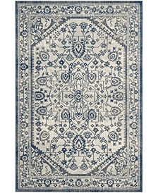 """Artisan Silver and Blue 5'1"""" x 7'6"""" Area Rug"""