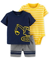Carter s Baby Boys 3-Pc. Striped Cotton Bodysuit 30bd72a56e4