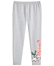 Disney Toddler Girls Moana Graphic-Print Leggings